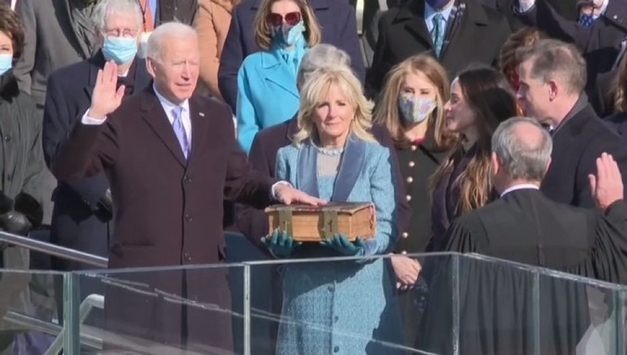<외신 Washington DC> 조 바이든 미국 대통령 제46대 대통령 취임/ US President Joe Biden is inaugurated as the 46th president on the 20th