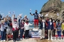 일본의 독도왜곡 일본규탄 '조승환 열사' 얼음위 맨발 오래 서있기 세계신기록 도전 성공